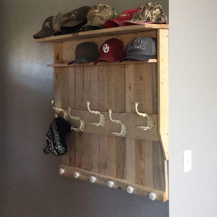 pallet coat rack ideas