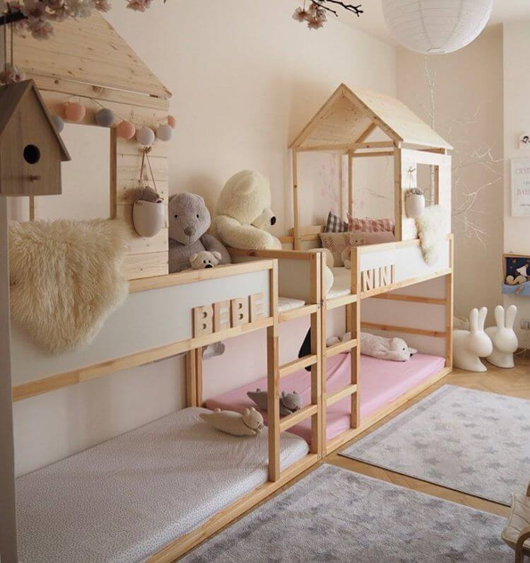 queen loft bed ideas