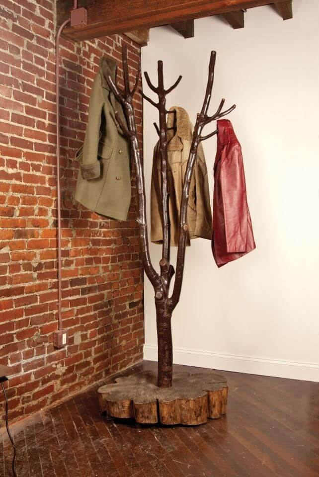 rustic coat rack ideas