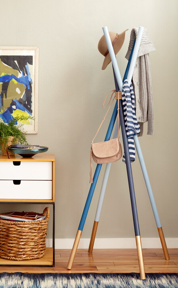 standing coat rack ideas