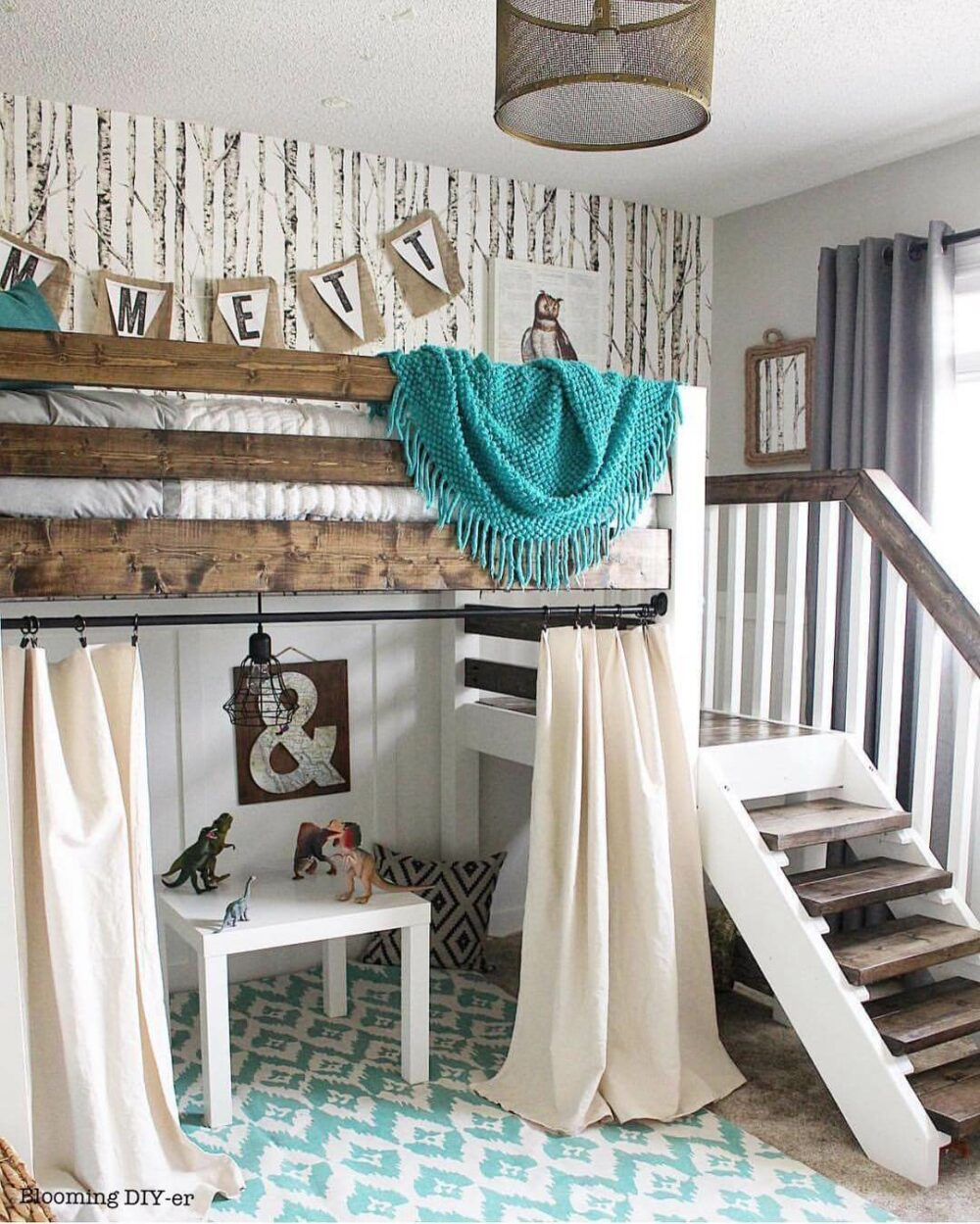 teenage loft bed ideas