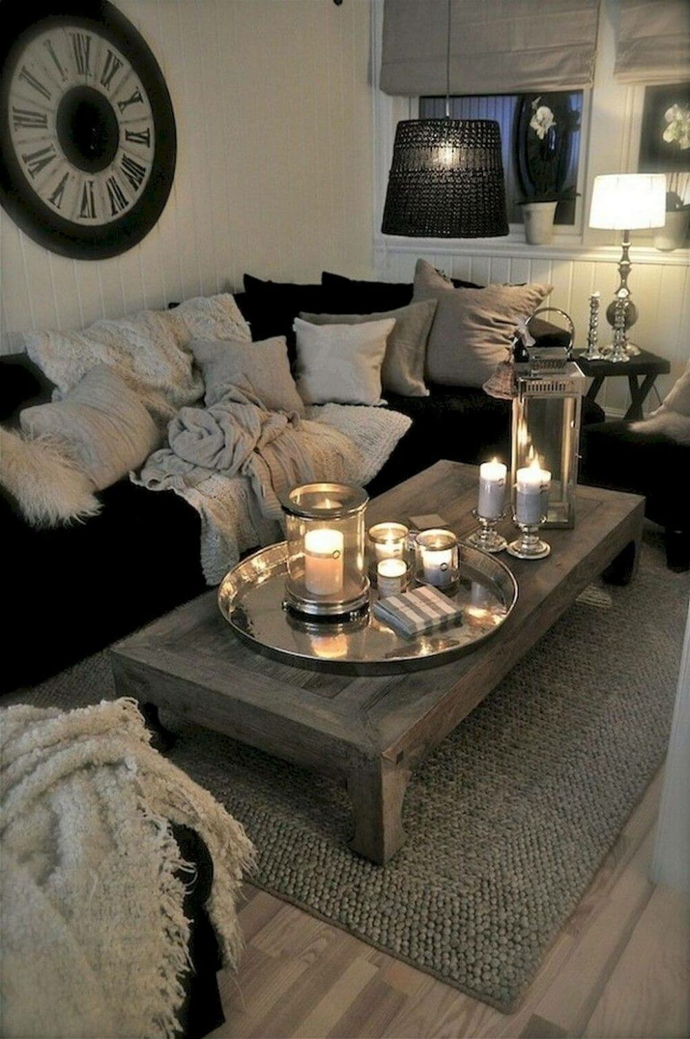 traditional living room lighting ideas