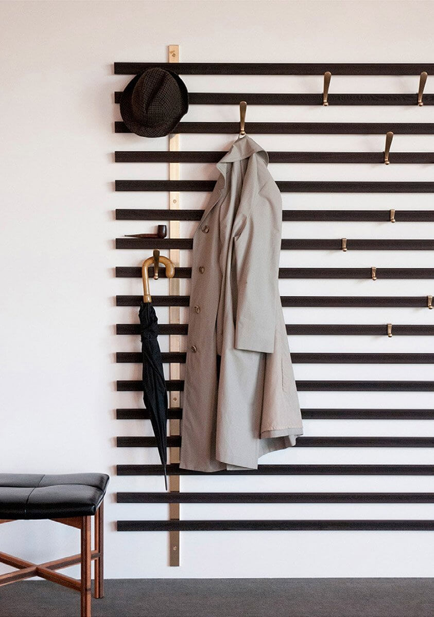 wall mounted coat rack ideas