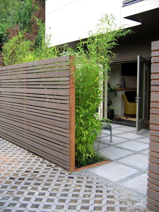 wood fence ideas for front yard