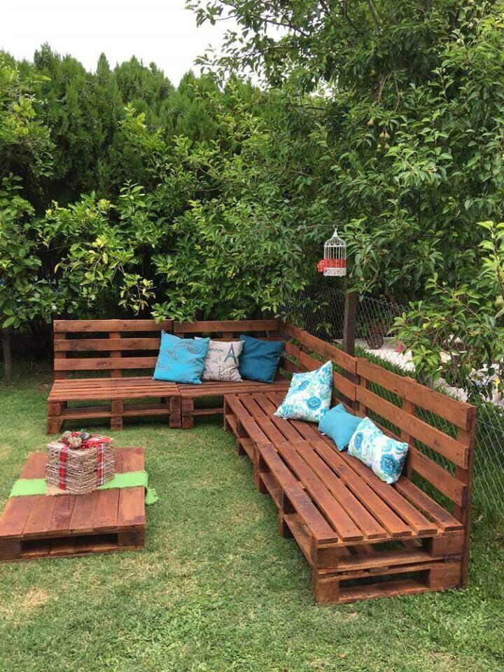 wood pallet ideas for garden