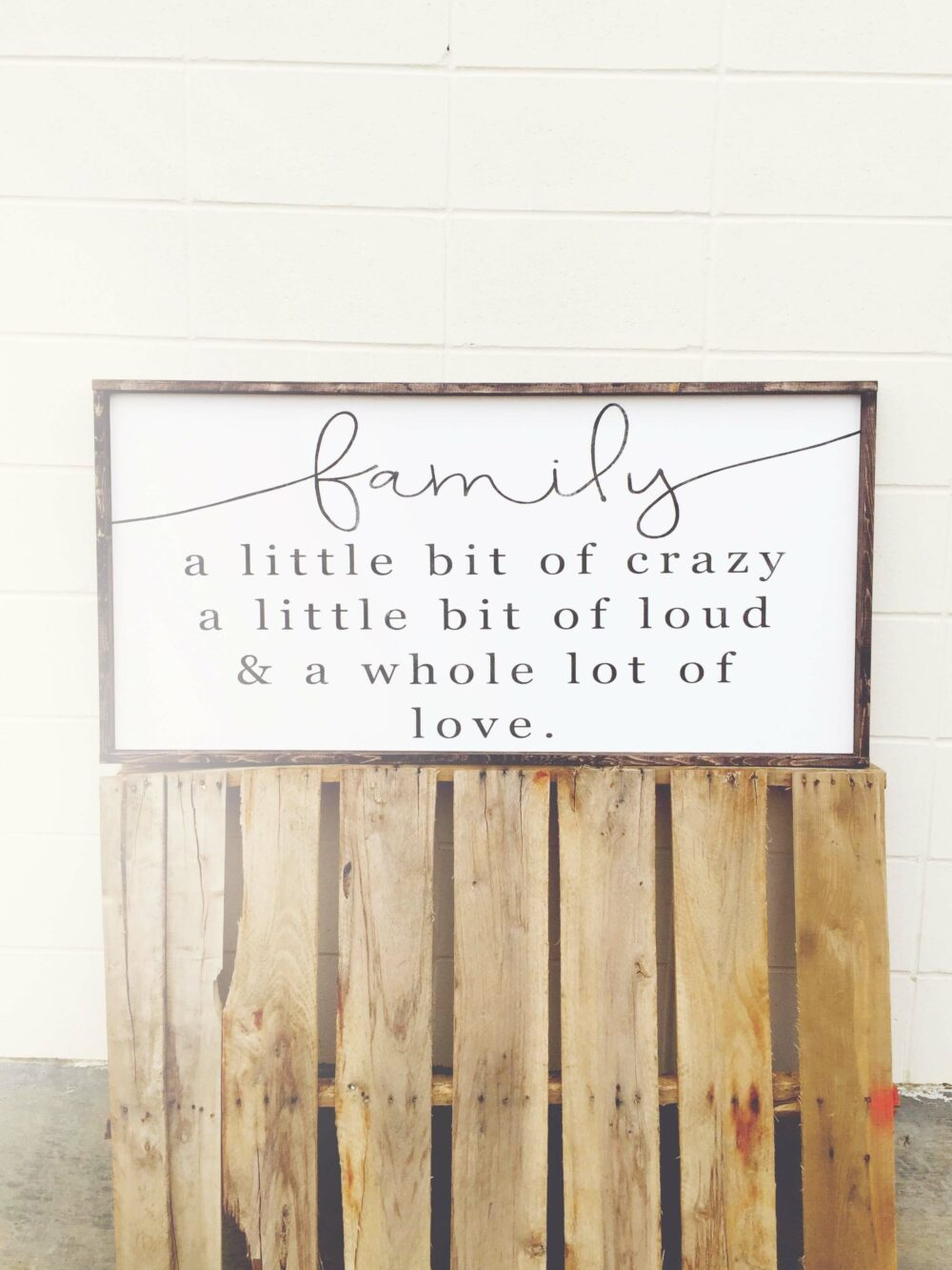 wood sign ideas family
