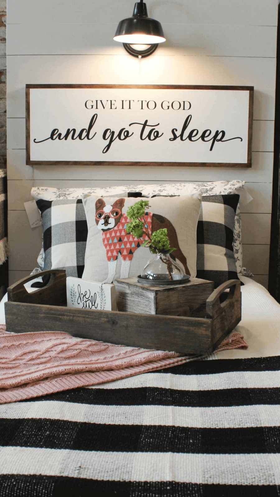 wood sign ideas for bedroom