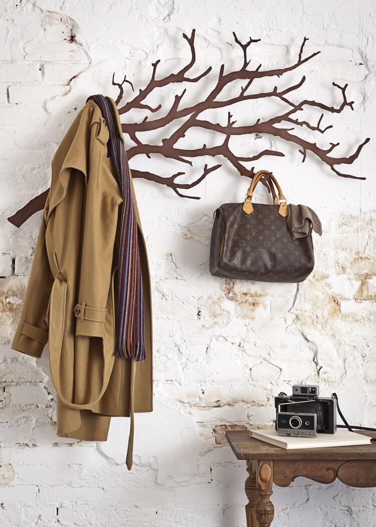 wooden coat rack ideas