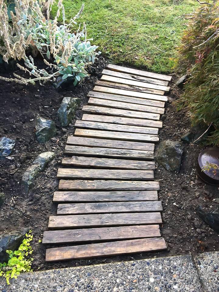 wooden pallet ideas for garden