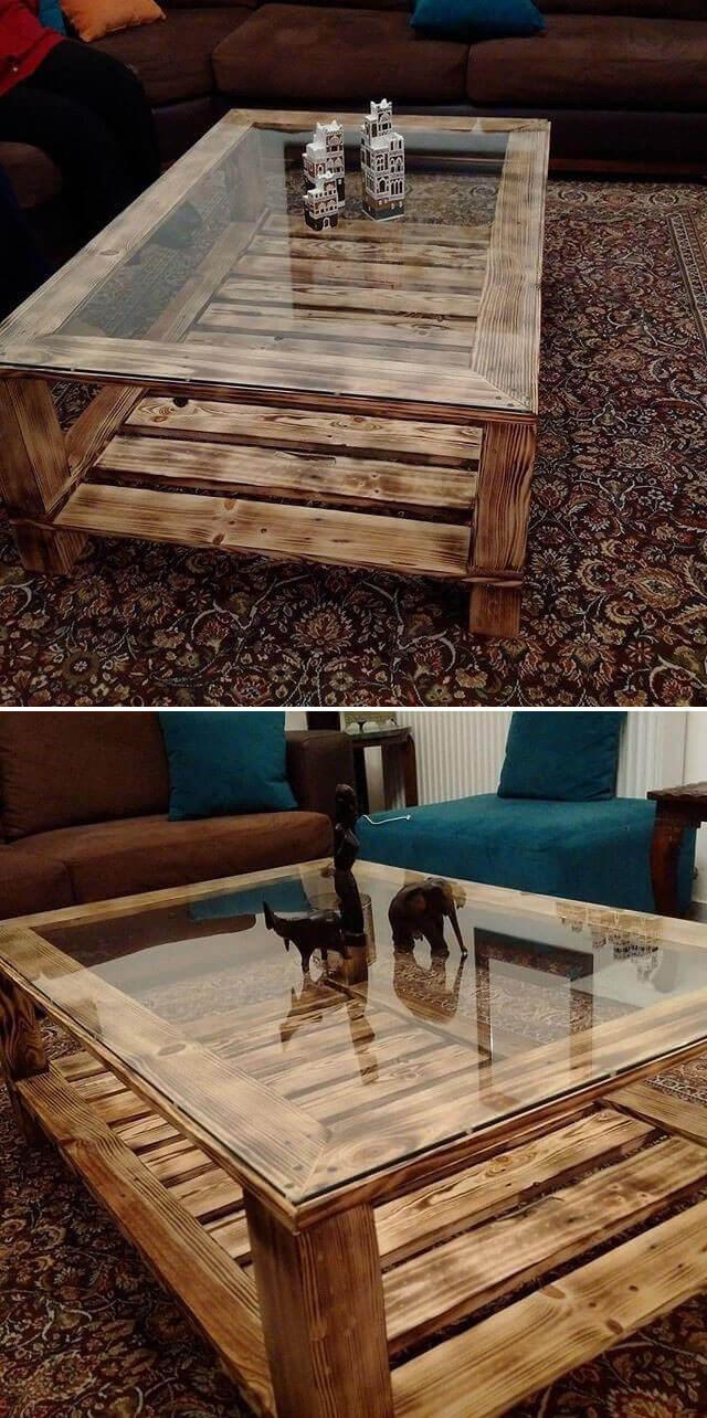 wooden pallet table ideas