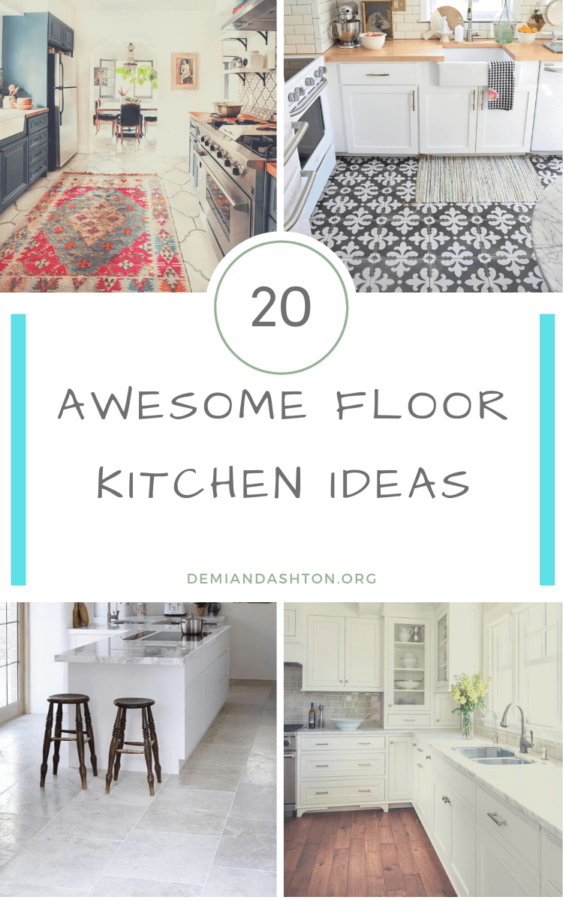 Awesome Floor Kitchen Ideas