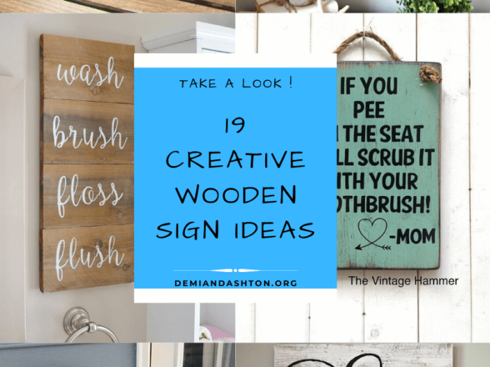 Creative Wooden Sign Ideas