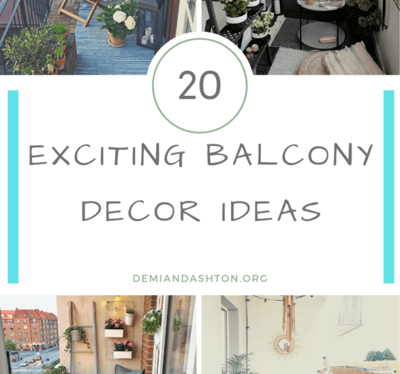 Exciting Balcony Decor Ideas