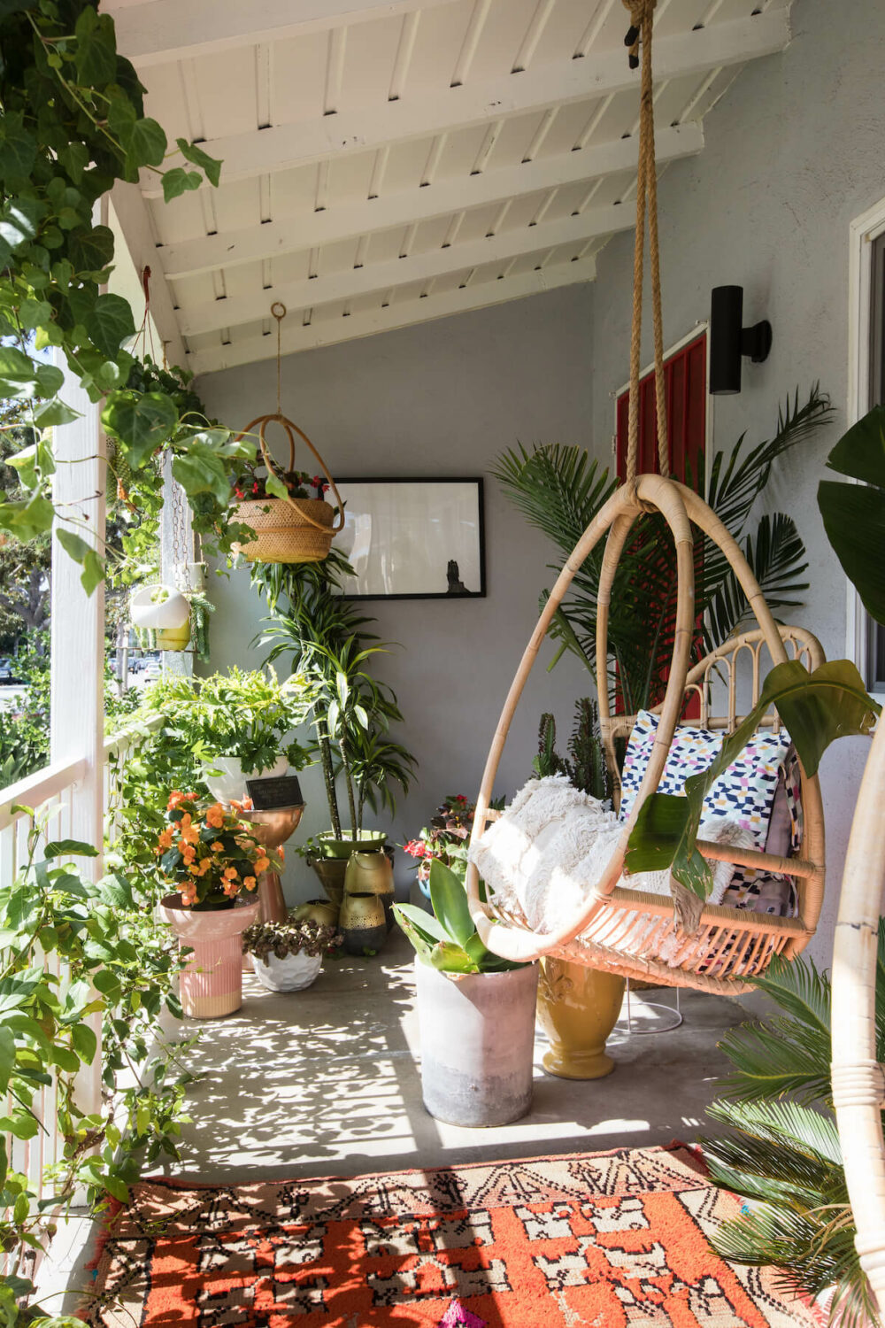 balcony decor ideas with plants
