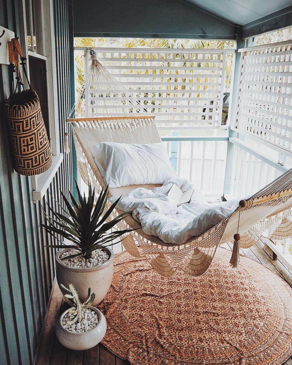 balcony decorating ideas privacy