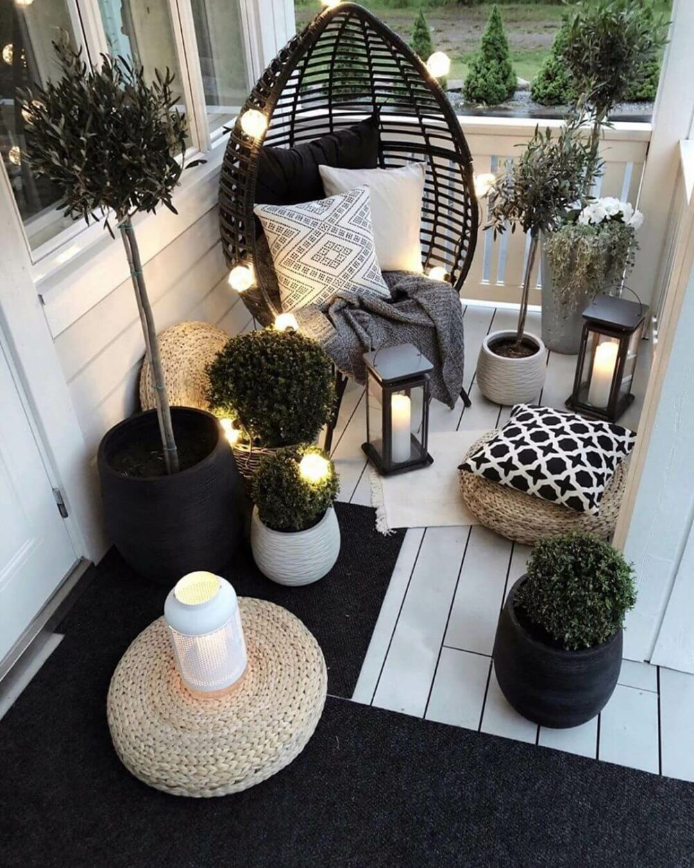 balcony garden decor ideas