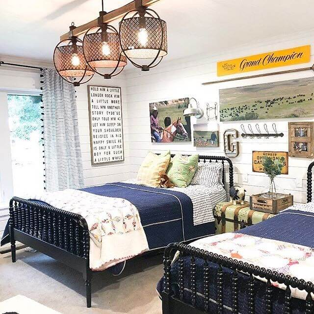 farmhouse bedroom lighting ideas
