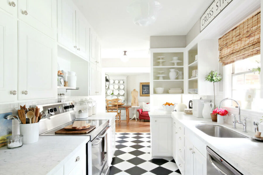 farmhouse kitchen floor ideas