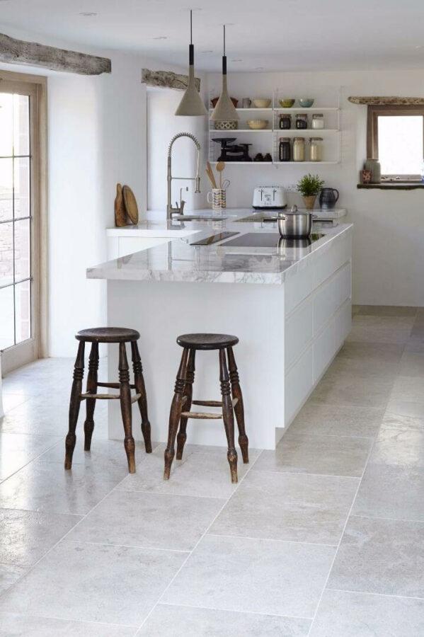 floor ideas for kitchen