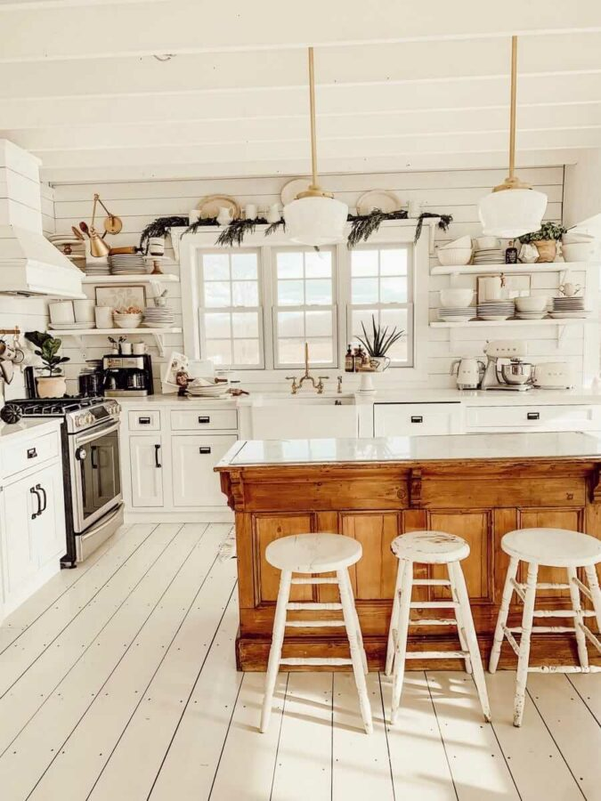 floor kitchen ideas
