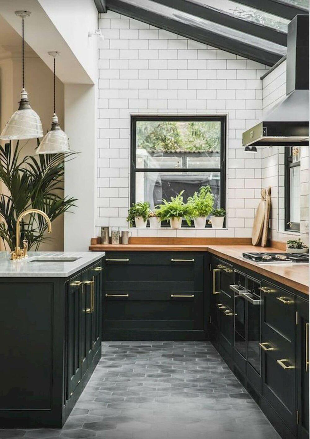 floor kitchen tiles ideas