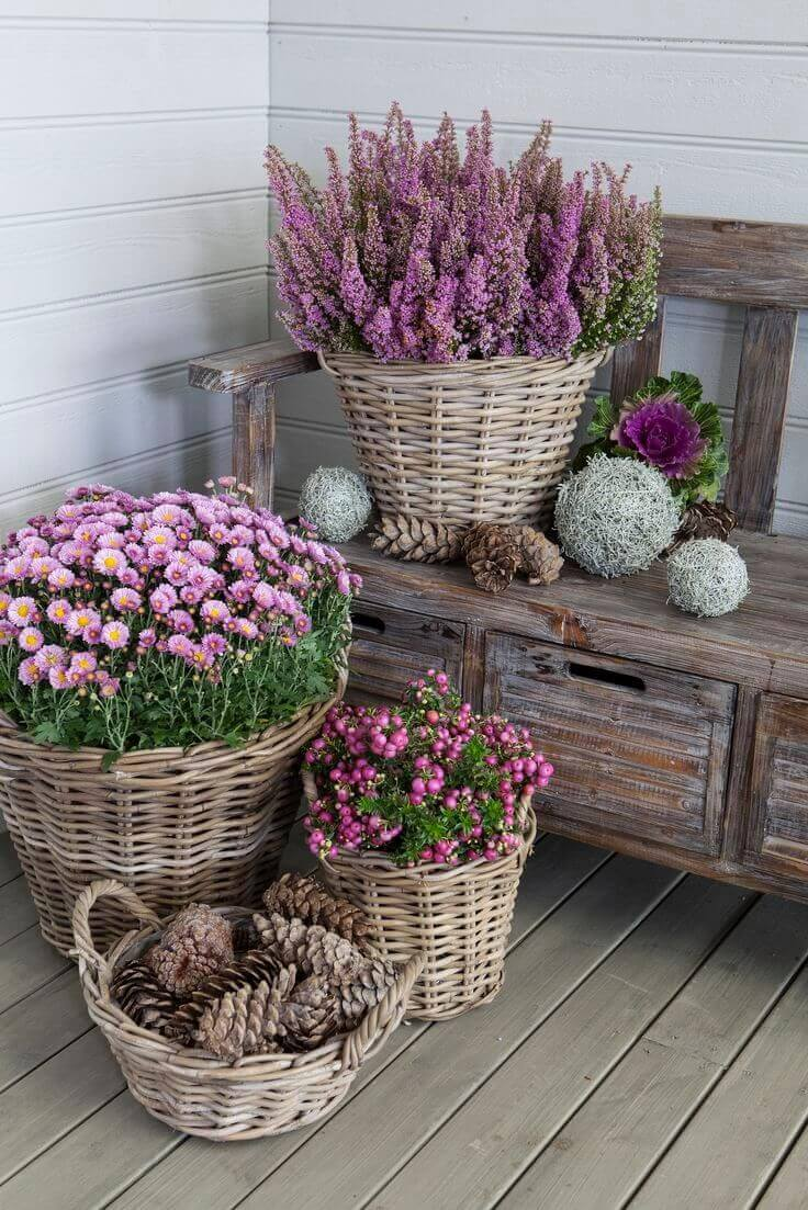 flower pot ideas front porch