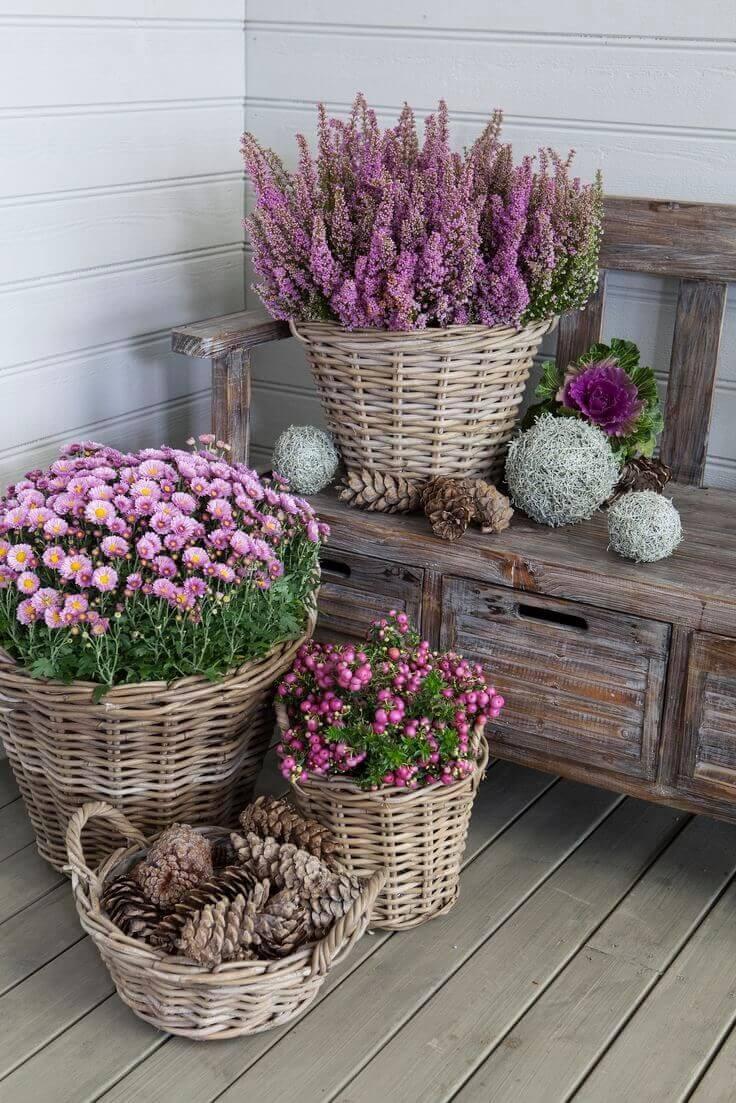 flower pot ideas front porch