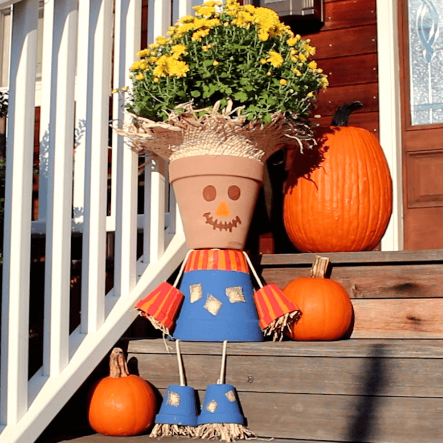 halloween flower pot ideas