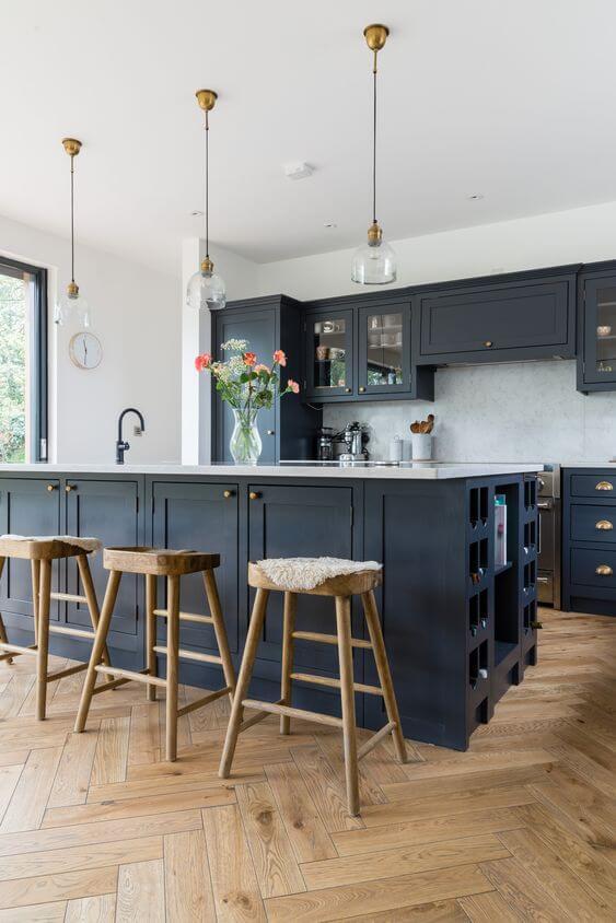 hardwood floor kitchen ideas