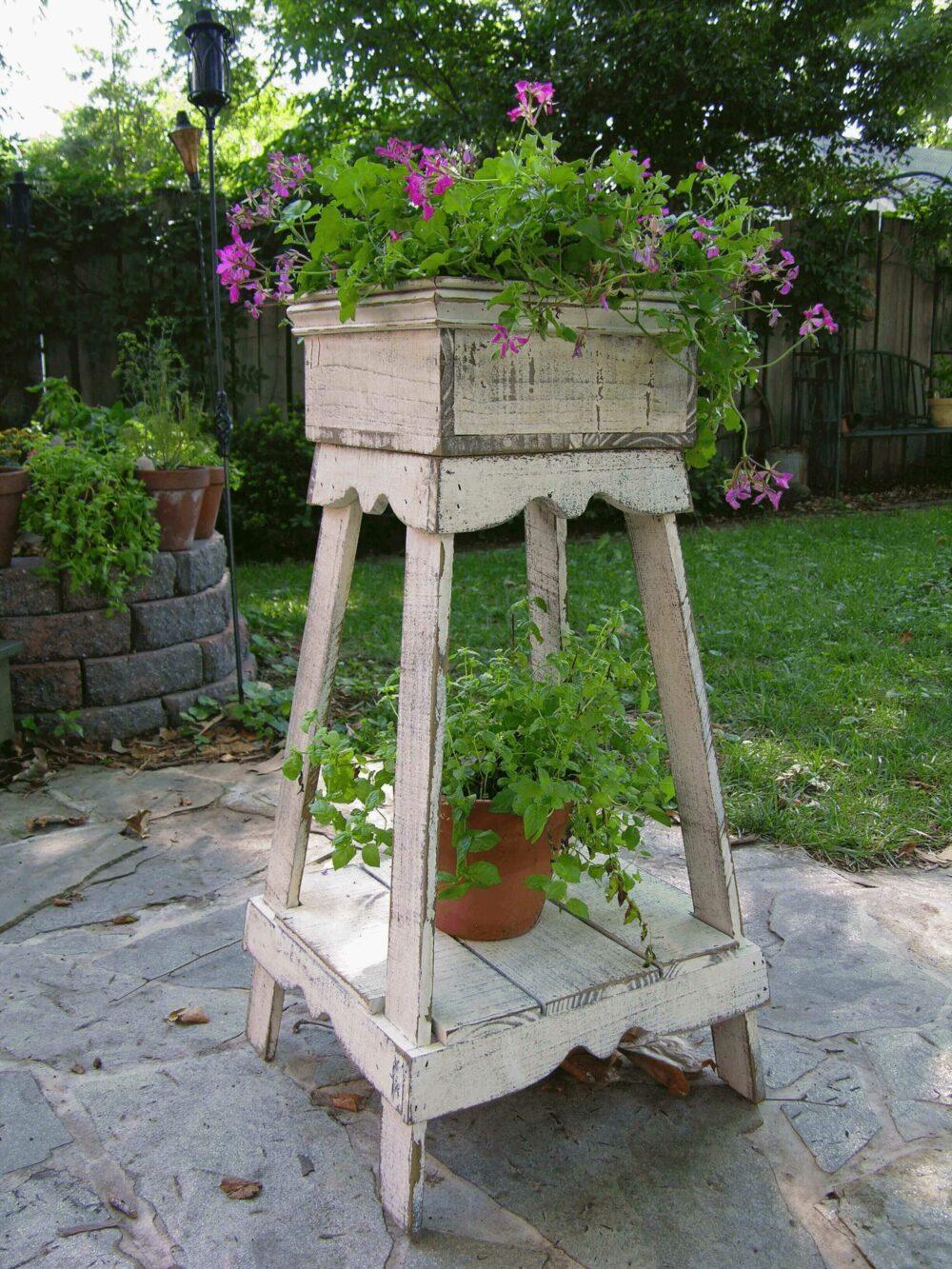 homemade flower pot ideas