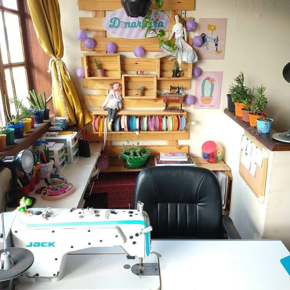 ideas for sewing room organization