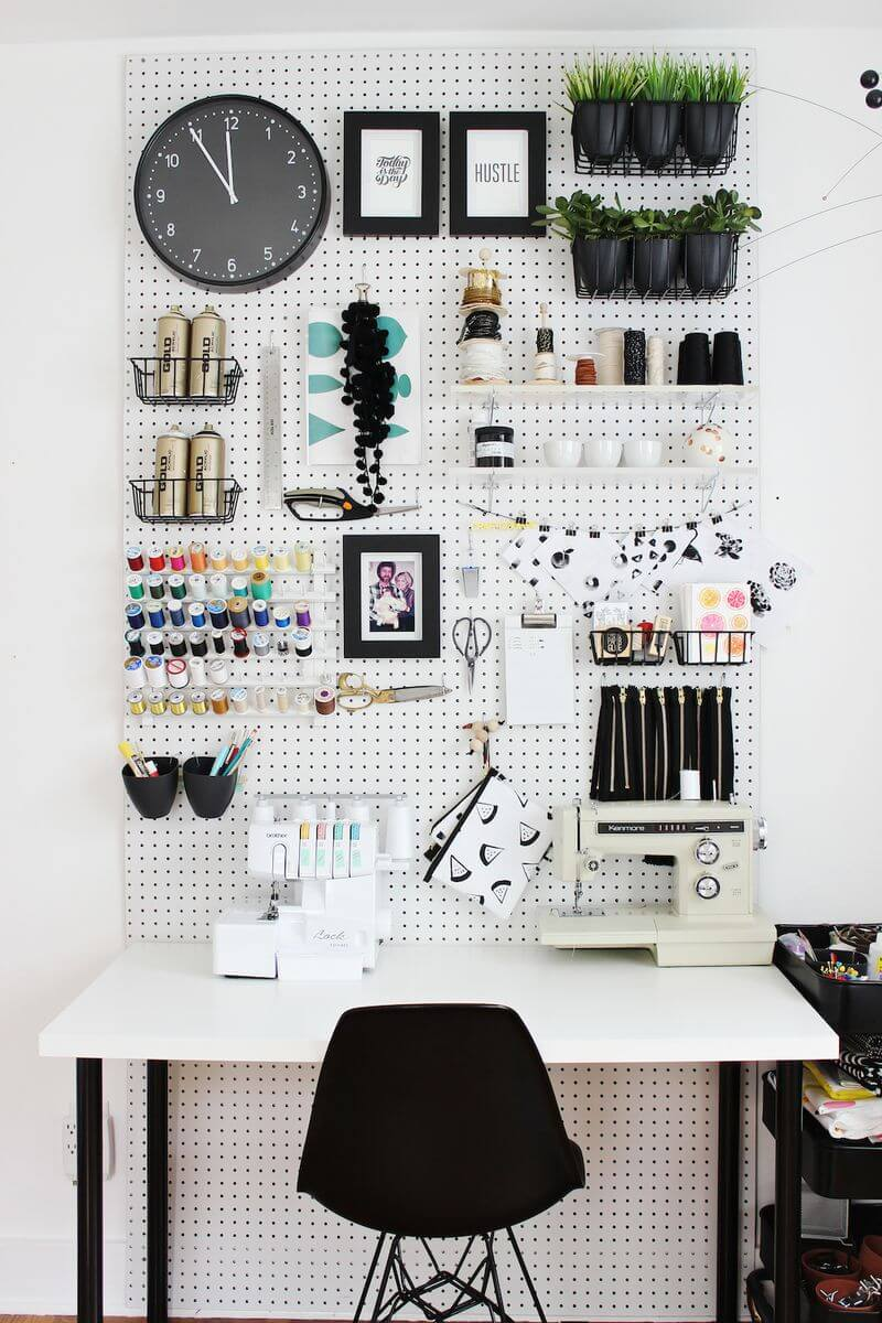 ideas for sewing room storage