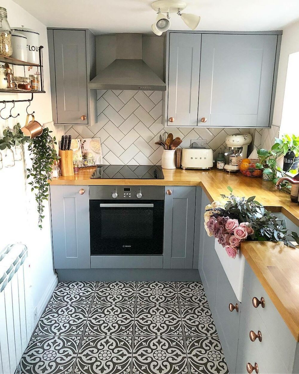 kitchen floor painting ideas