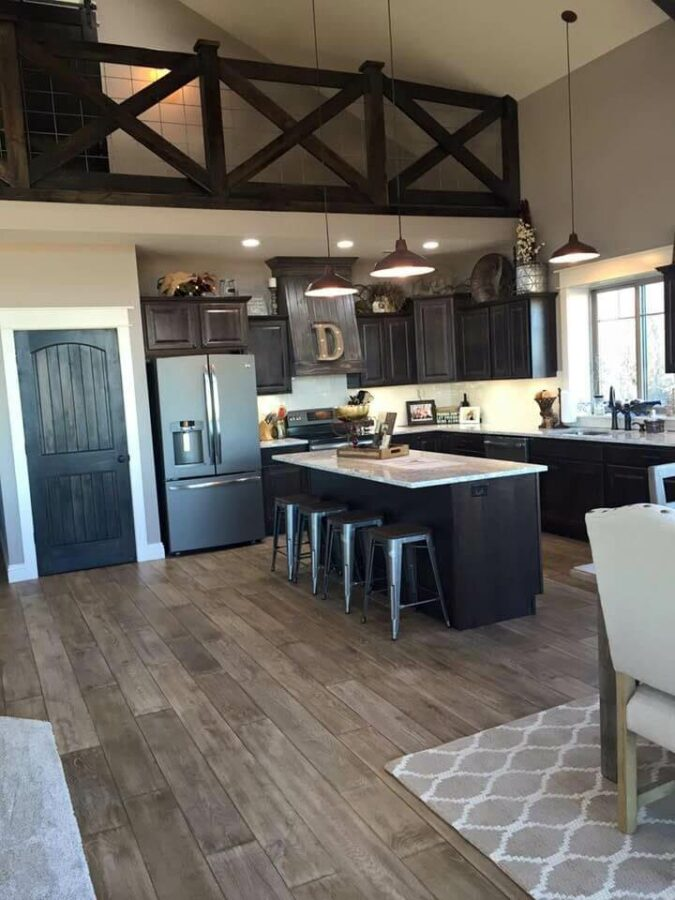 modern kitchen floor ideas