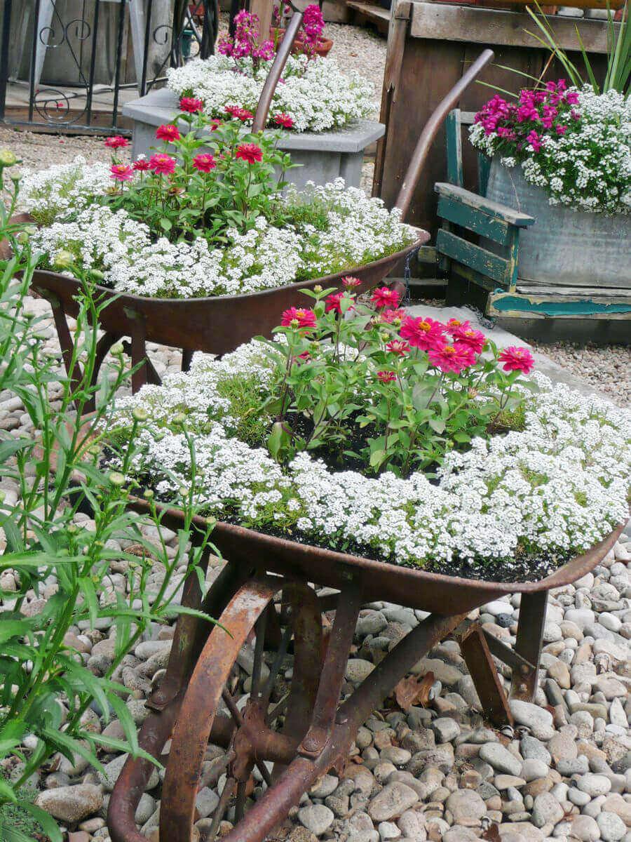 outdoor flower pot ideas