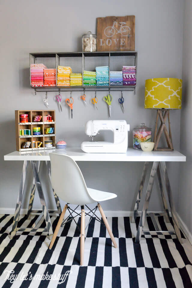 sewing craft room design ideas