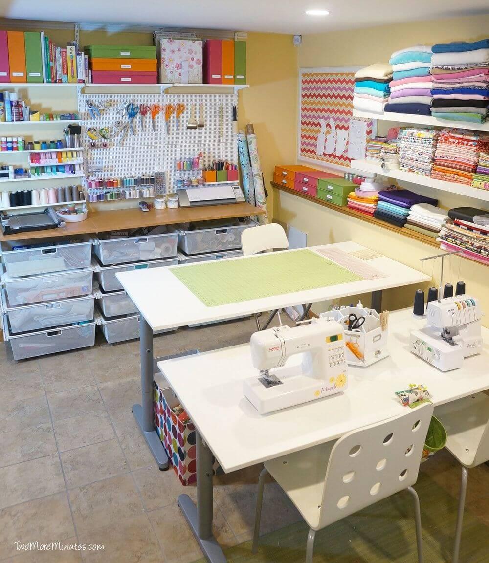 sewing craft room organization ideas