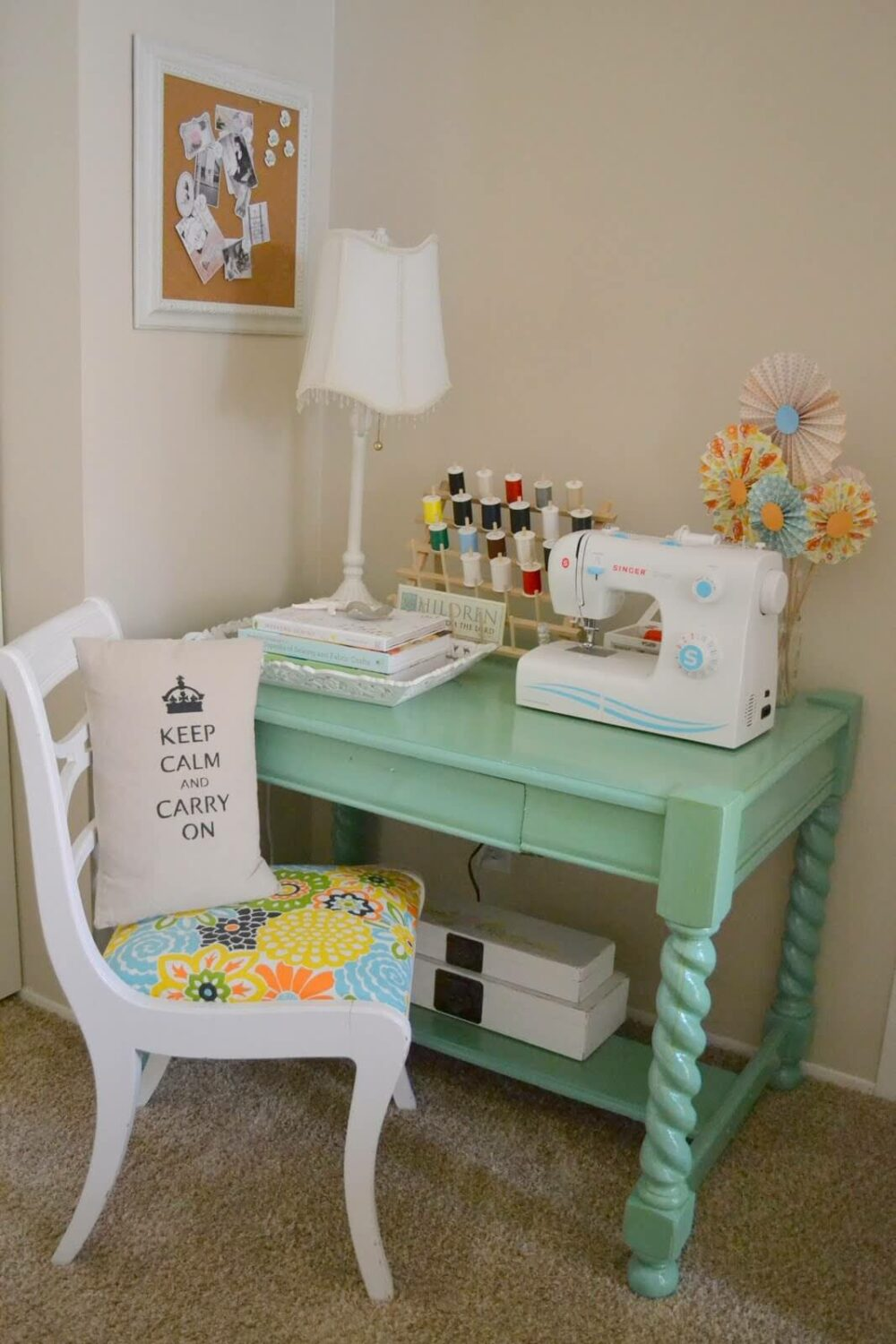 sewing room ideas for a small room