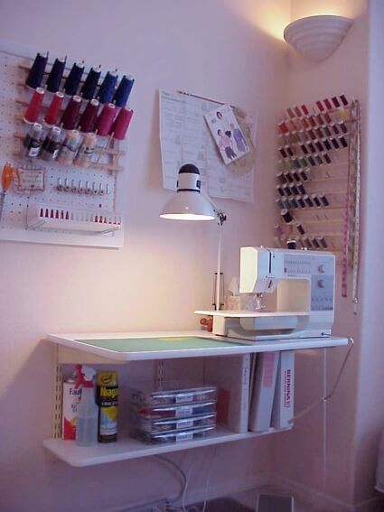 sewing room ideas small spaces