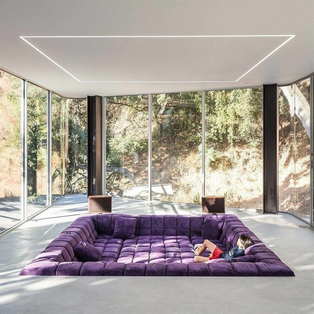 sunken living room images