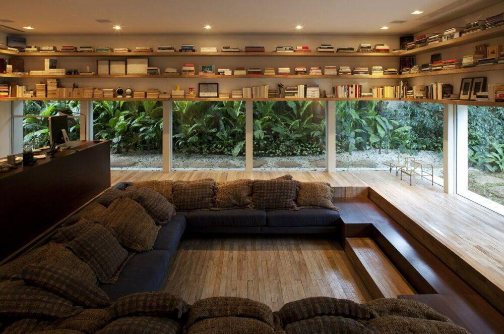 sunken living room pictures