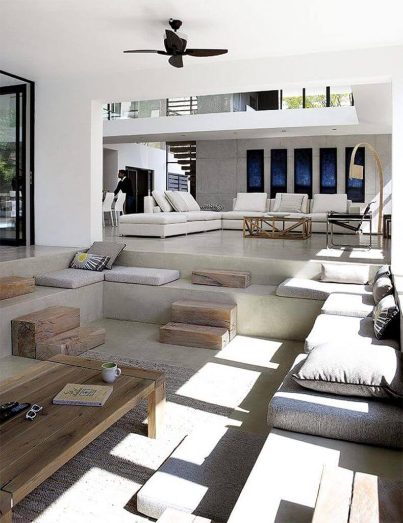 20 Gorgeous Sunken Living Room Design Ideas You Don't Want to Miss