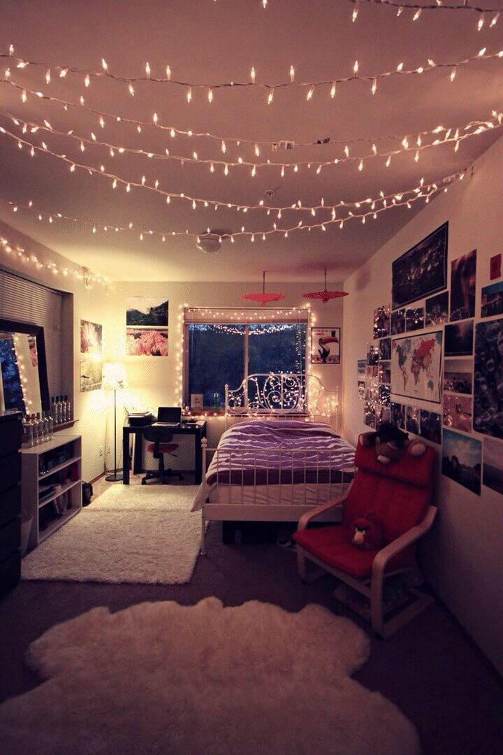 teenage bedroom lighting ideas