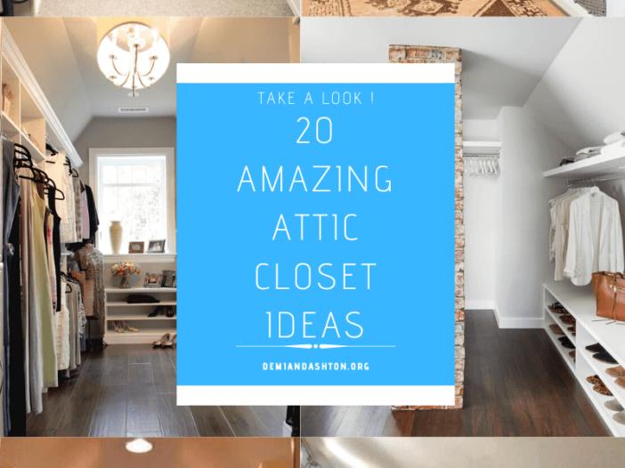 Amazing Attic Closet Ideas