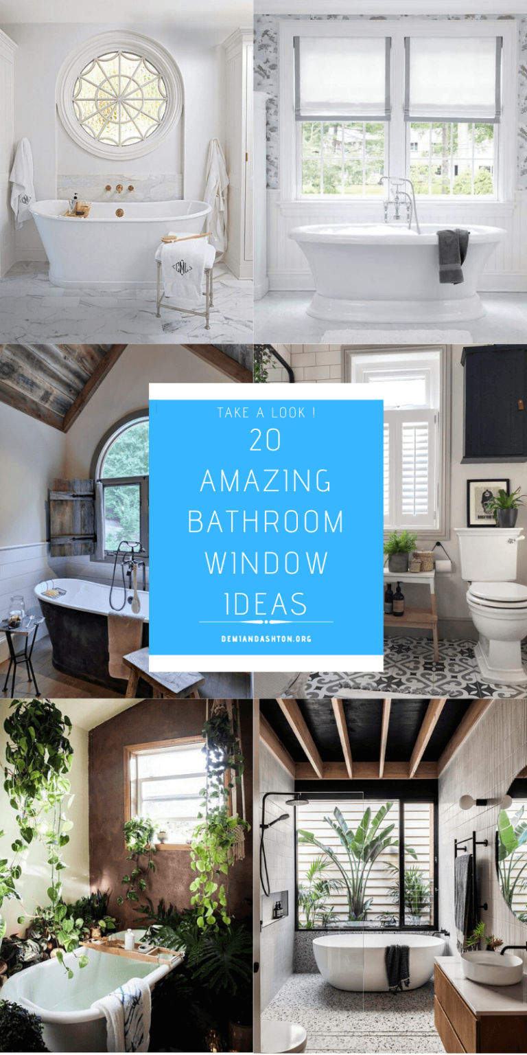 Amazing Bathroom Window Ideas