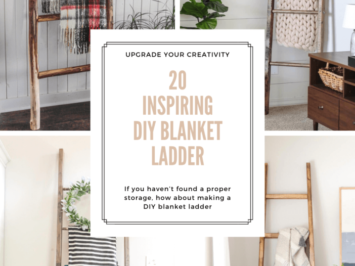 DIY Blanket Ladder Designs