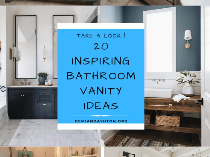 Inspiring Bathroom Vanity Ideas