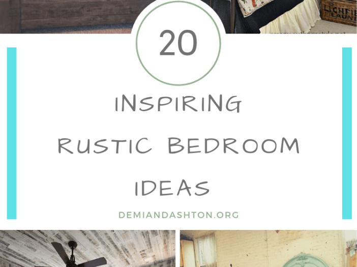 Inspiring Rustic Bedroom Ideas