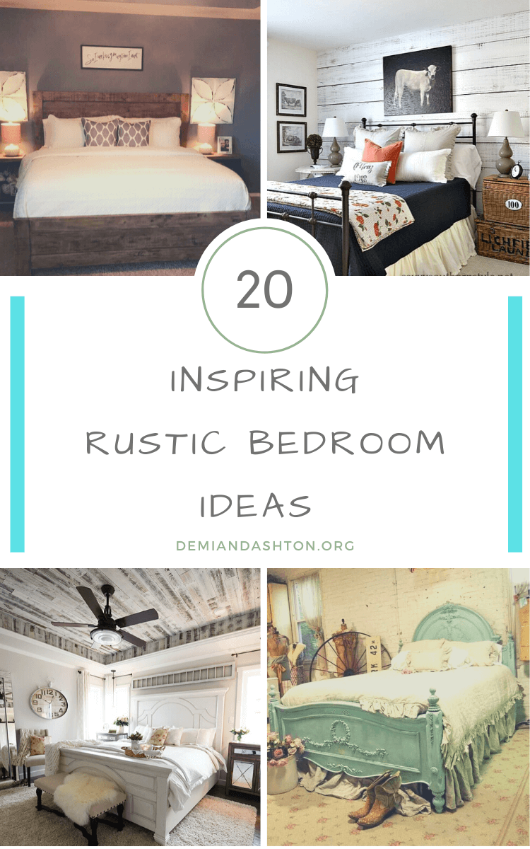 Inspiring Rustic Bedroom Ideas