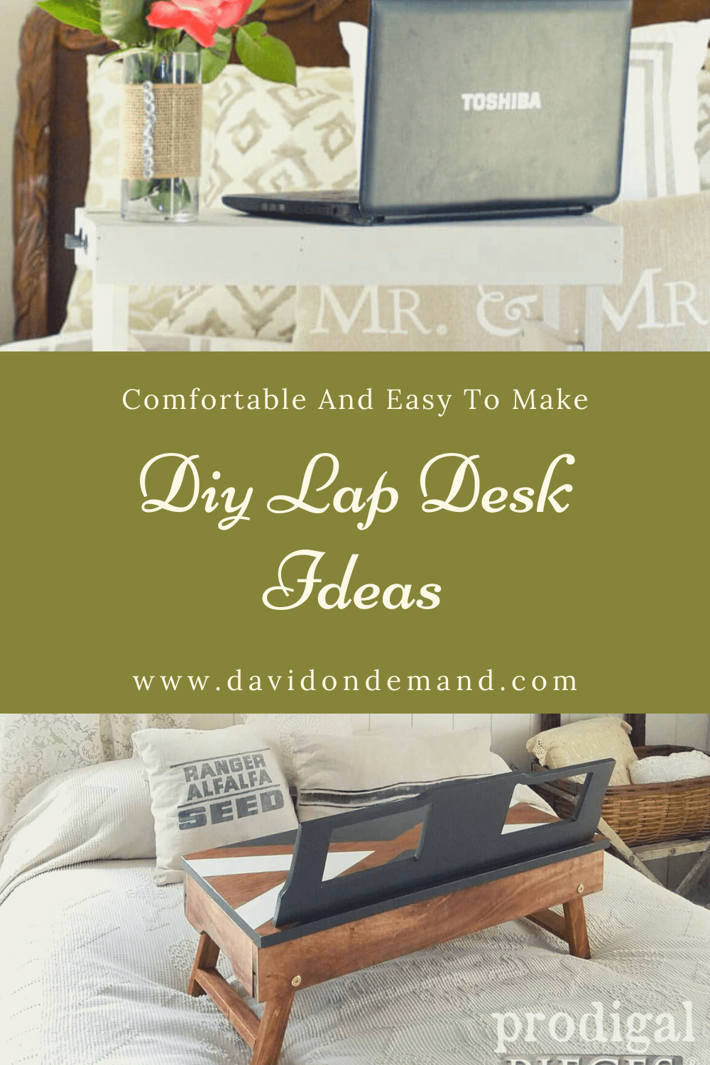 Useful DIY Lap Desk Ideas
